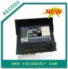 Mobile DVR with Monitor and Control keyboard.ALL-IN-ONE for Police Car