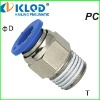 PC male straight air fitting;hose fittings;air compressor fittings