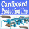 Computerised 3&5 ply corrugated cardboard production line