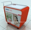 beauty and cute movable advertising display showcase S-06