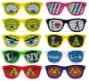 2012 New Style Promotion Sunglasses With Custom Logo Printing On Lens, Promotion Eyewear, Sticker Sunglasses (BSP2836)