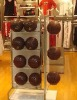 wooden ball display/middle rack/shop window display/display/display stand/shelf/