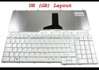New laptop keyboard for Satellite P205 P300 L350 L355D L500 L505 X200 X205 Silver UK Version - KFRSBA206A