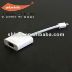 good quality white color mini DP to VGA adapter