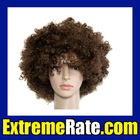 Party Afro Wig for Masquerade Party Coffee