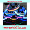 Nylon LED Dog Night Safety Collar Flashing Light Up w/Circular Pendant Collar SL00174