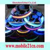 Nylon LED Dog Night Safety Collar Flashing Light Up w/Circular Pendant Collar SL00174