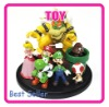 SUPER MARIO BOWSER PRINCESS YOSHI LUIGI TOAD GOOMBA SET COLLECTION FIGURE-TG0912