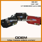 Wholesale OEM ODM Hd hd camera 1080P 5 mp cmos 32 GB best digital video camera HD-501 CE/RoHS movie video cameras