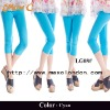 2013 New arrival cyan thin cotton fashion ladies leggings tight pants