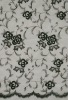 black tulle bridal fabric