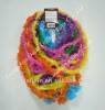 Saw Tooth plastic hawaiian leis