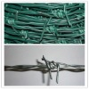 Galvanized or PVC coated barbed wire specification