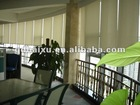 Manual Control Spring Chain Roller Blinds Sunscreen Fabric