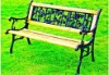 wrought iron park chair SY-722