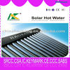 High end solar water heater