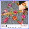leather bracelet Leather Flower Bracelets