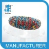 2012 top selling crystal square bangles wholesale