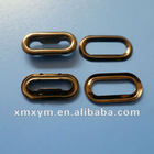 oval shaped metal eyelets