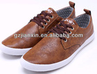 2012 latest fashion brown shoes men or boys casul shoes lace-up shoes