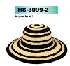 stripe paper hat