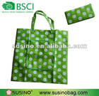 Foldable and reusable polyester bag shop online