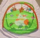 bull cartoon plush baby playmat , baby gym mat