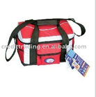 "17"" nylon cooler bag , ice bag in stock"