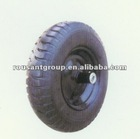 "wheelbarrow tire and tube pneumatic wheel 16""*4.00-8 ypr024"