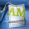 Printed cotton canvas hangtag