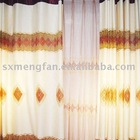100%polyester embroidered home hotel curtain