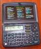 pocket portable electronic dictionary with calculator