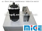 ac three phase synchronous induction motor