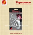 10pcs Hex key Set