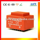 EI encapsulated power transformer used in PCB board