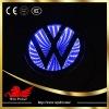 VW Volkswagen 3D auto logo light