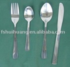 stainless steel fork and Knife