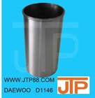 Factory Price DAWOO main parts diesel engine D1146 D1146T DB58 DB58T D2366 D2366T piston liner kit