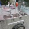 Mobile Hot Dog Cart XR-HD110 B