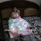 2012 new style fashion and colorful led lighting blanket