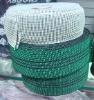 green sofa elastic webbing