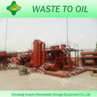 2012 latest environmentally friendly tyre and plastic pyrolysis machine