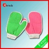 2011 the most popular nylon bath glove with good quality
