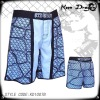 Fighter's apparel 100% polyester printed mma fighting shorts