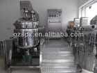 high effective vacuum homogenizing emulsifier lower homogenizer