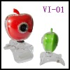 Apple shape webcame special web camera computer