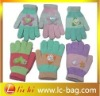Winter glove children glove