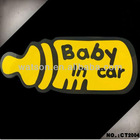 Car Body Sticker, Baby in Car, Reflective Car Sticker