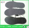 cuttable heated insole shoe pad with lithium battery
