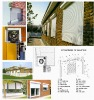 automatic rolling shutter window,aluminium shutters,rolling window
